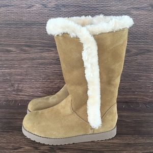 Genuine Suede Winter Boots